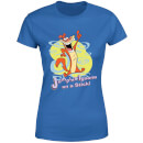 I Am Weasel Jumping Iguana On A Stick Women's T-Shirt - Royal Blue