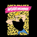 Johnny Bravo Woah Momma Women's T-Shirt - Black