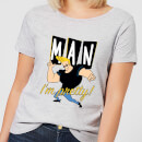 Johnny Bravo Man I'm Pretty Women's T-Shirt - Grey