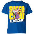 Cow and Chicken Supercow Al Rescate! Kids' T-Shirt - Royal Blue