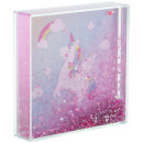 Sass & Belle Rainbow Unicorn Glitter Photo Frame