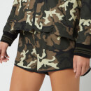 The Upside Women's Camo Run Shorts - Camo
