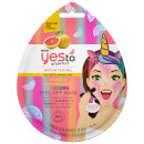 Yes To Grapefruit Vitamin C Glow Boosting Unicorn Peel-Off Mask (Single Pack) 10ml