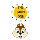 Disney Chip 'N' Dale The Smart One Hoodie - White