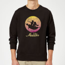 Disney Aladdin Flying Sunset Sweatshirt - Black