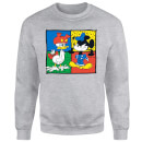 Disney Mickey And Donald Clothes Swap Sweatshirt - Grau
