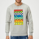 Donald Duck Vintage Pattern Sweatshirt - Grey