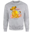 Disney Lion King Simba Pastel Sweatshirt - Grey