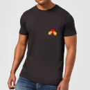 Disney Mickey Mouse Backside Herren T-Shirt - Schwarz