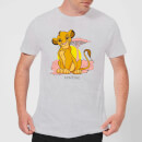 Disney Lion King Simba Pastel Men's T-Shirt - Grey