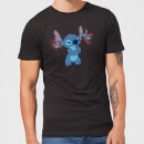 Disney Lilo And Stitch Little Devils Men's T-Shirt - Black