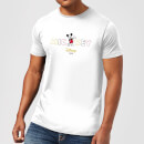 Disney Mickey Mouse Disney Wording Men's T-Shirt - White