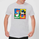 Disney Mickey And Donald Clothes Swap Men's T-Shirt - Grey