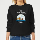 Disney Lion King Hakuna Matata Walk Women's Sweatshirt - Black