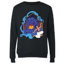 Disney Aladdin Cave Of Wonders Damen Sweatshirt - Schwarz