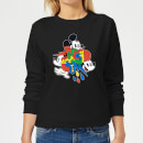 Disney Mickey Mouse Vintage Arrows Women's Sweatshirt - Black