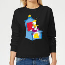 Disney King Donald Women's Sweatshirt - Black