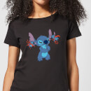 Disney Lilo And Stitch Little Devils Women's T-Shirt - Black