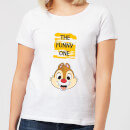 Disney Chip 'N' Dale The Funny One Women's T-Shirt - White
