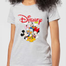 Mickey Mouse Disney Crew Women's T-Shirt - Grey