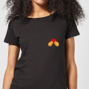 Disney Mickey Mouse Backside Women's T-Shirt - Black