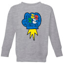 Donald Duck Pop Fist Kids' Sweatshirt - Grey