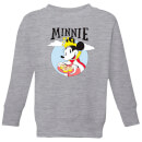 Disney Mickey Mouse Queen Minnie Kids' Sweatshirt - Grey