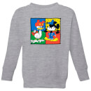 Disney Mickey And Donald Clothes Swap Kids' Sweatshirt - Grey