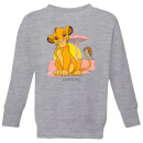 Disney Lion King Simba Pastel Kids' Sweatshirt - Grey