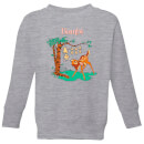 Disney Bambi Tilted Up Kids' Sweatshirt - Grey