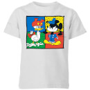 Disney Mickey And Donald Clothes Swap Kids' T-Shirt - Grey