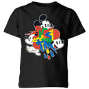Disney Mickey Mouse Vintage Arrows Kids' T-Shirt - Black