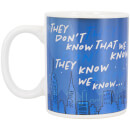 Friends They Don't Know Heat Change Mug