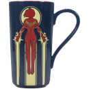 Marvel Captain Marvel Latte Mug