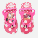 Havaianas Toddler's Disney Classics Sandals - White/Pink Flour