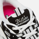 Skechers Women's D'Lites Biggest Fan Trainers - Black/White