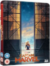 Capitana Marvel 3D (incluye Blu-ray 2D) - Steelbook Edición Limitada Exclusivo Zavvi (Edición GB)