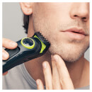Braun BT3021 Beard Trimmer and Hair Clipper - Black/Volt Green