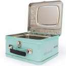 TV Lunch Box - Blue