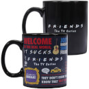 Friends Heat Changing Mug