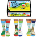 United Oddsocks Men's On Your Bike Socks Gift Set (UK 6-11)