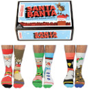 United Oddsocks Men's Santa Banta Gift Set (UK 6-11)