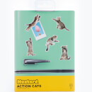 Action Cat Fridge Magnets