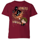 Harry Potter Kids Expecto Patronum Kids' T-Shirt - Burgundy