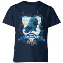 Harry Potter Kids Ravenclaw Crest Kids' T-Shirt - Navy
