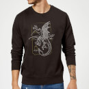 Harry Potter Hungarian Horntail Dragon Sweatshirt - Black