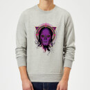 Harry Potter Death Mask 2 Neon Sweatshirt - Grey