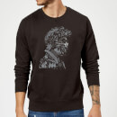 Harry Potter Harry Potter Head Sweatshirt - Black