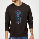 Harry Potter Nagini Neon Sweatshirt - Black