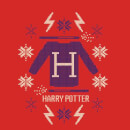 Harry Potter Christmas Sweater Men's T-Shirt - Red